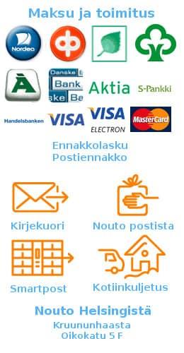 Maksu- ja toimitustavat